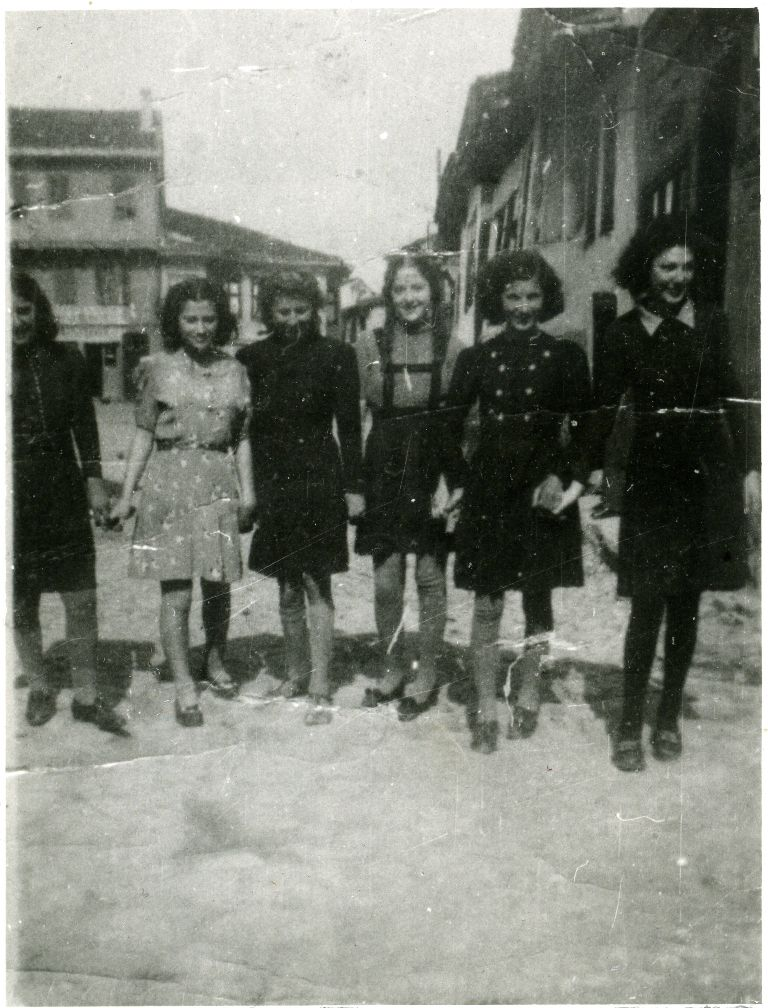 Young Jewish Women from Shtip, 1941